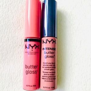 NYX Butter Gloss (Tres Leches and Maple Blonde )